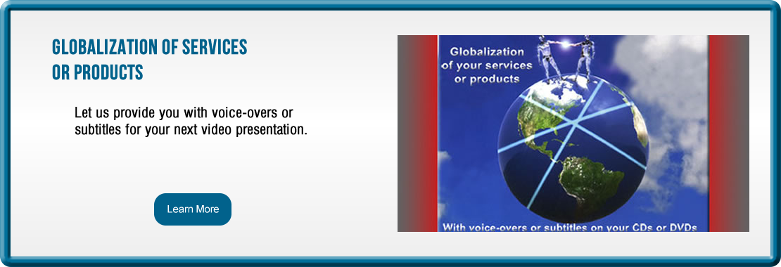 Globalization of Services or Products